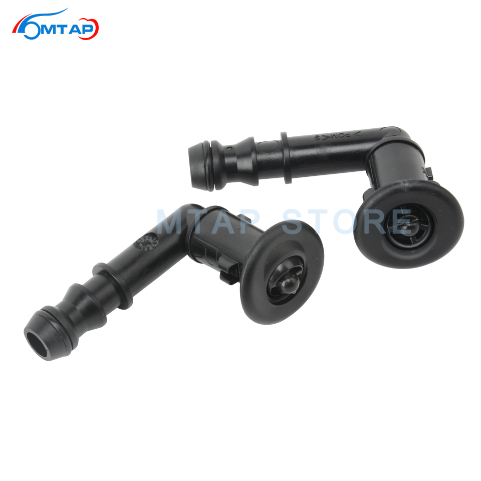 Head Light Lamp Washer Nozzle Actuator Spray Headlight Washer Jet For Nissan For Juke For ESQ 2010 2011 2012 2013 2014 2015