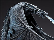 Game of Thrones Viserion Gelo Dragão Brinquedos McFARLANE Figura Deluxe Coletivo(China)