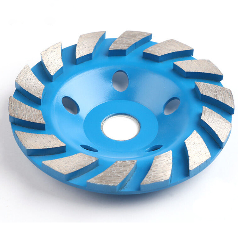 New 125mm Diamond Grinding Wheel Disc Bowl Shape Grinding Cup Concrete Granite Stone Ceramics Tools