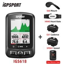 IGPSPORT IGS618E ANT + GPS دراجة كمبيوتر بلوتوث 4.0 لاسلكي IPX7 مقاوم للماء دراجة الدراجات عداد السرعة ملحقات الكمبيوتر