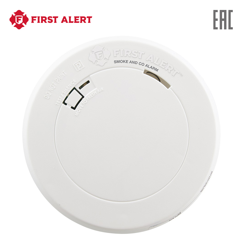 Smoke Detector First Alert PRC710 Security Fire Protection sensors alarm detectors smart photo ic sensors optoschmitt detector infrared sensors