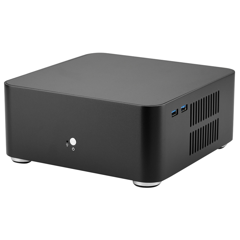 L80 Computer Cases Aluminum Chassis Desktop Mainframe with Usb 3.0 Port for Game Chassis Diy Mini Pc Itx Case