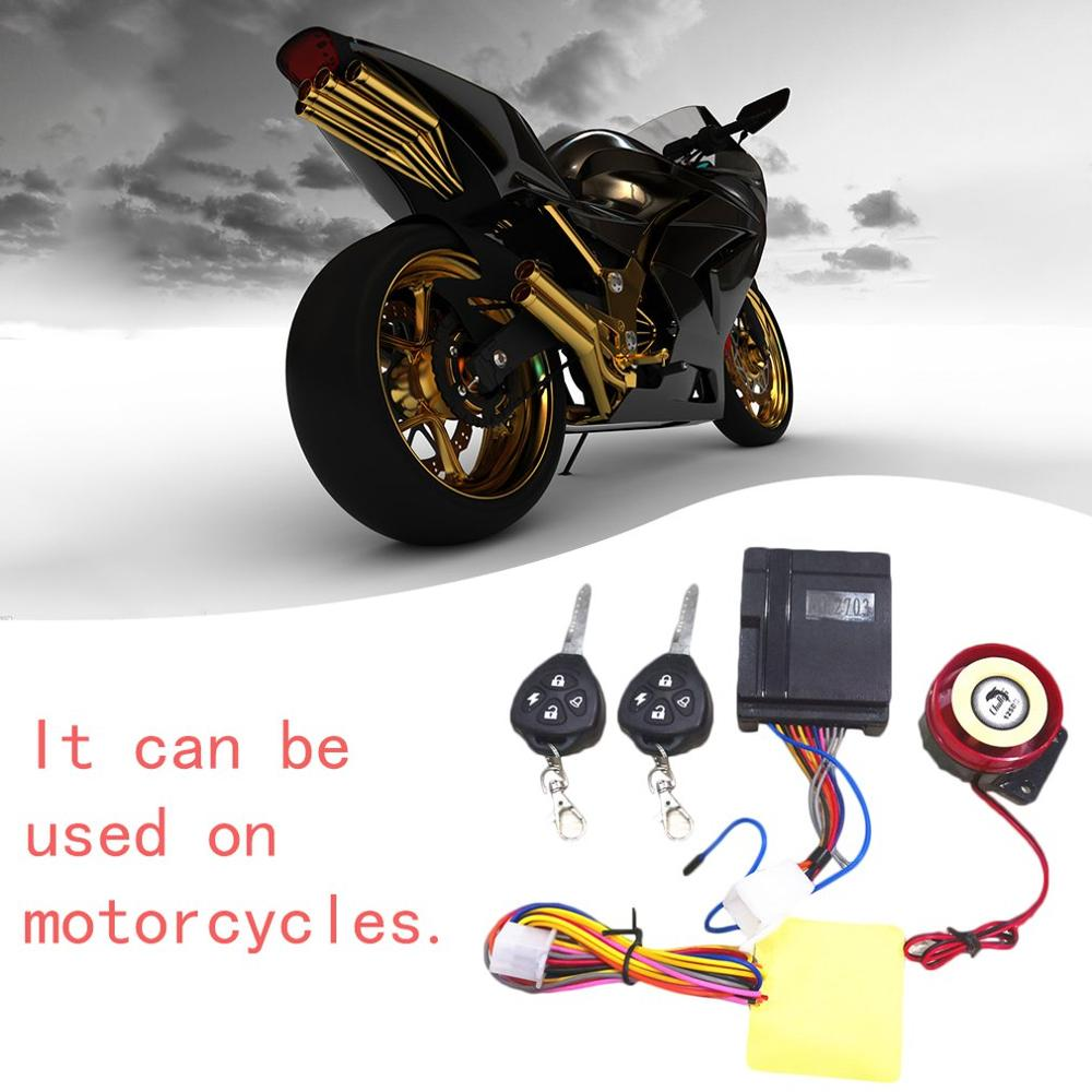 Motorcycle Anti-theft Device Brake Disc Lock Remote Moto Alarma Theft Protection Smart Induction Invisible Alarm Sensor