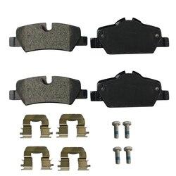 1 zestaw dla Mini F55 F56 F57 Cooper 2014-2017 tylne klocki hamulcowe 34216871300 34-21-6-871-300