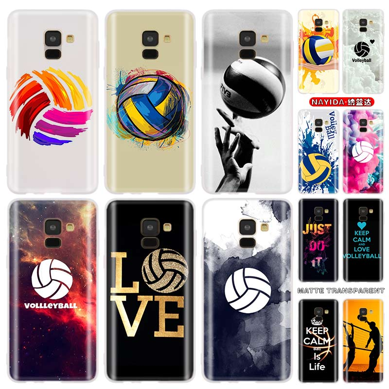 Baseus étui transparent pour Samsung J4 J6 Plus J7 J8 J3 J5 2015 2016 2017 ue 2018 Prime Funda étuis en silicone souple volley-ball Sports image