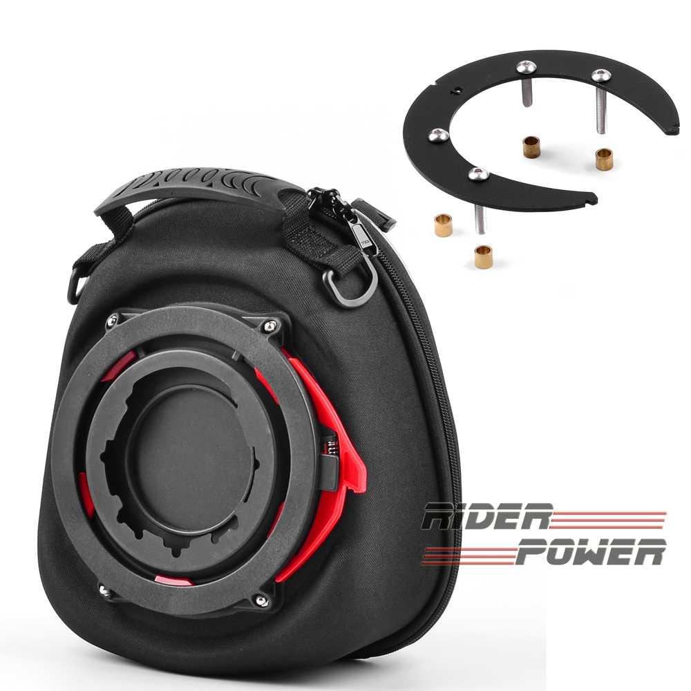 สำหรับ Suzuki V-Strom DL650/XT 2012-2019 SV650 2003-2019 SV1000 2003-2009 Tankbag อะแดปเตอร์แหวนล็อคง่ายถังกระเป๋า