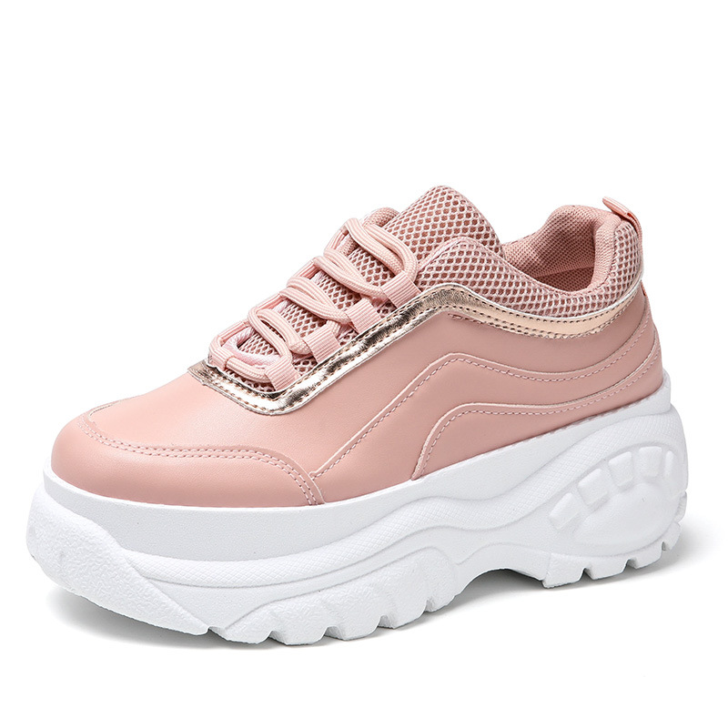 Women Sneakers High Quality Trainers Platform Shoes Platform Breathable Casual Women Chunky Sneakers Zapatillas Deportivas Mujer
