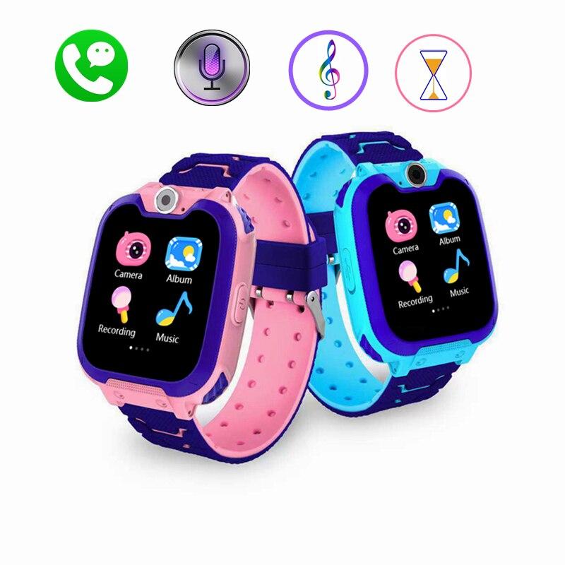 Automatic Outdoor Smart Watch Phone Music Recording Educational Game Boy Girl Elderly Kids Smartwatch Meter Digital Bracelet