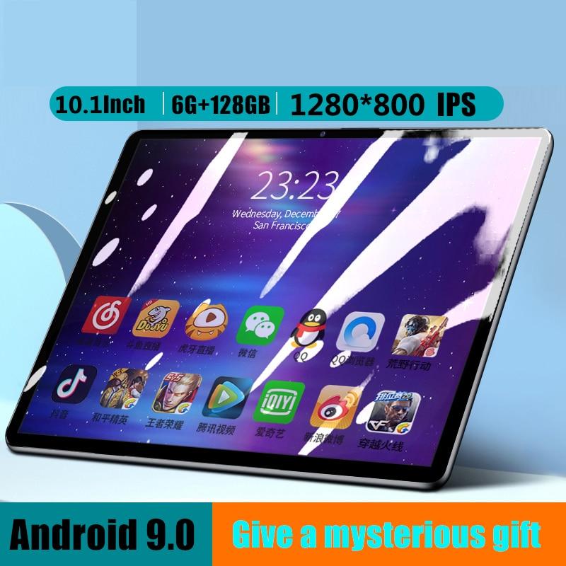 10,1 дюймовый планшетный ПК 10-core Оперативная память 6 ГБ Встроенная память 128 Гб IPS 4 аппарат не привязан к оператору сотовой связи Телефонный з...