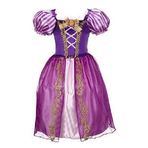 Image 2 - Summer Girls Dress Costume Kids Belle Sofia Sleeping Beauty Princess Dress Children Halloween Party Dress Up