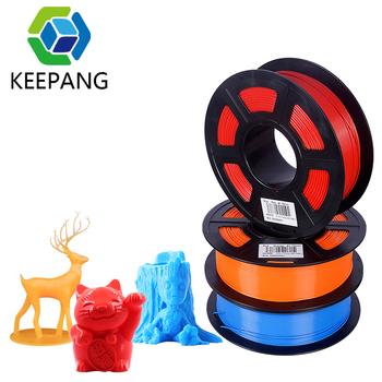 PLA Filament 1 75mm PLA do drukarki 3D 1KG na rolkę PLA materiał do drukowania 3D filamento pla 3D Filament drukarki tanie i dobre opinie Kee Pang CN (pochodzenie) Stałe HC001 see the picture 3d printer filament 1 35 kg