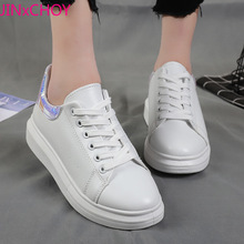 Breathable White Shoes Womens Sports Footwear Platform Wedges Running Women Casual