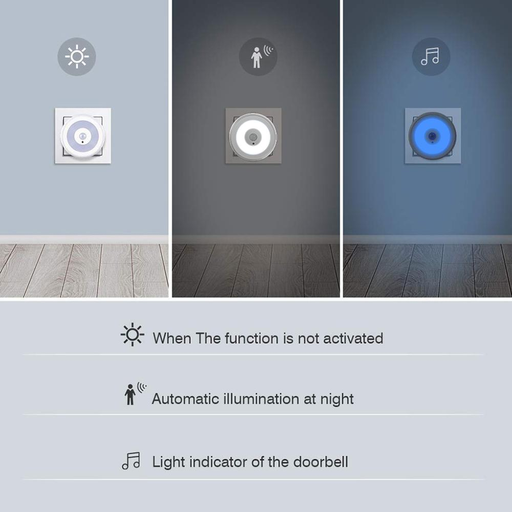 Wireless Door Magnetic Induction Doorbell Sensors Wireless Home Door Window Entry Burglar Alarm Security Alarm System