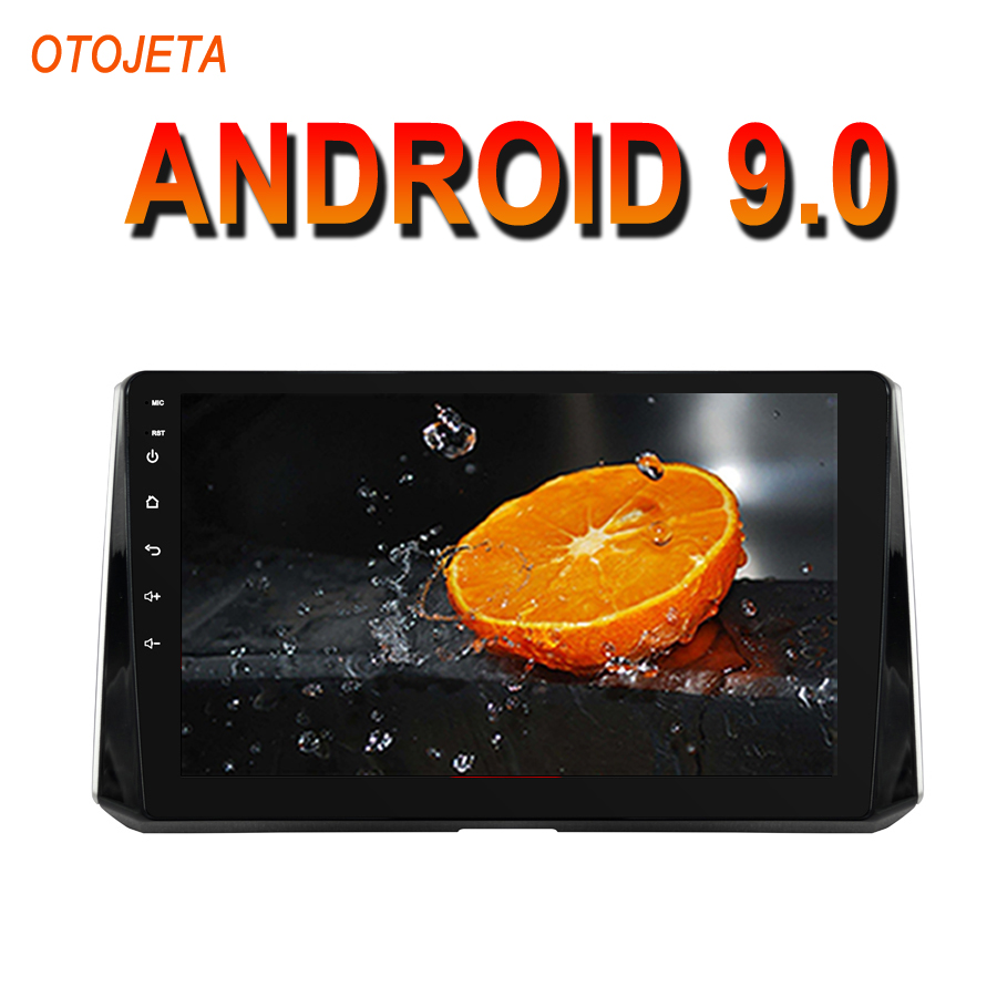 OTOJETA Android 9.0 2.5D Screen Car Radio Player For <font><b>TOYOTA</b></font> Auris 2018 <font><b>Corolla</b></font> <font><b>2019</b></font> bluetooth <font><b>Multimedia</b></font> Stereo GPS Navi tape image