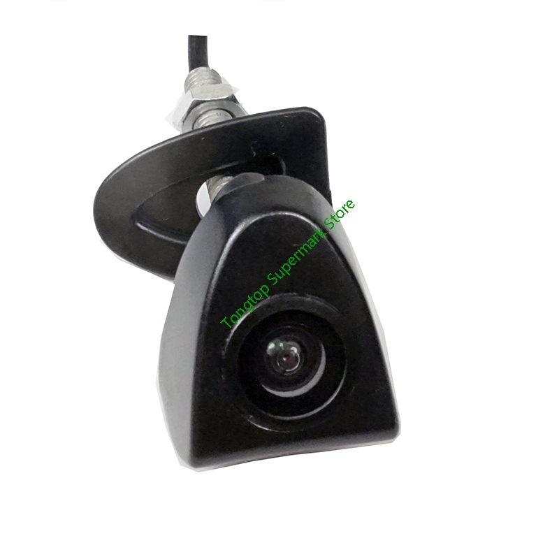 Waterproof CCD Car Front View Parking Camera For Toyota Prado Highlander Land Camry Firm Installation In The Car Logo