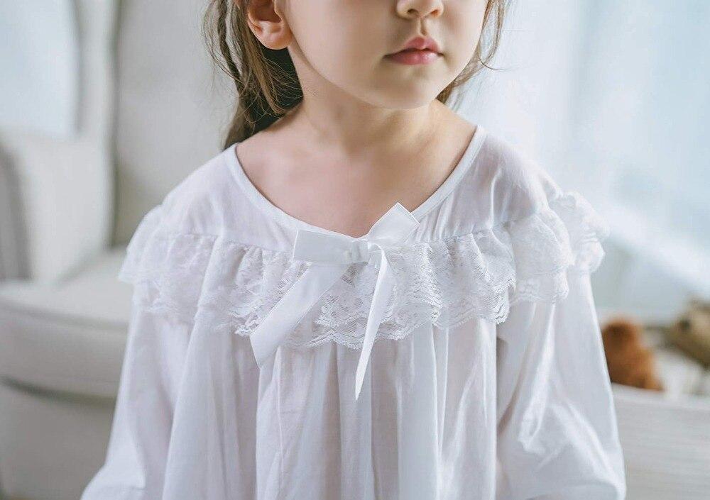 Baby Girl Clothes Princess Nightgown Long Sleeve Sleep Shirts Nightshirts Pajamas Christmas Dress Sleepwear kids for 3-12 Years (1)