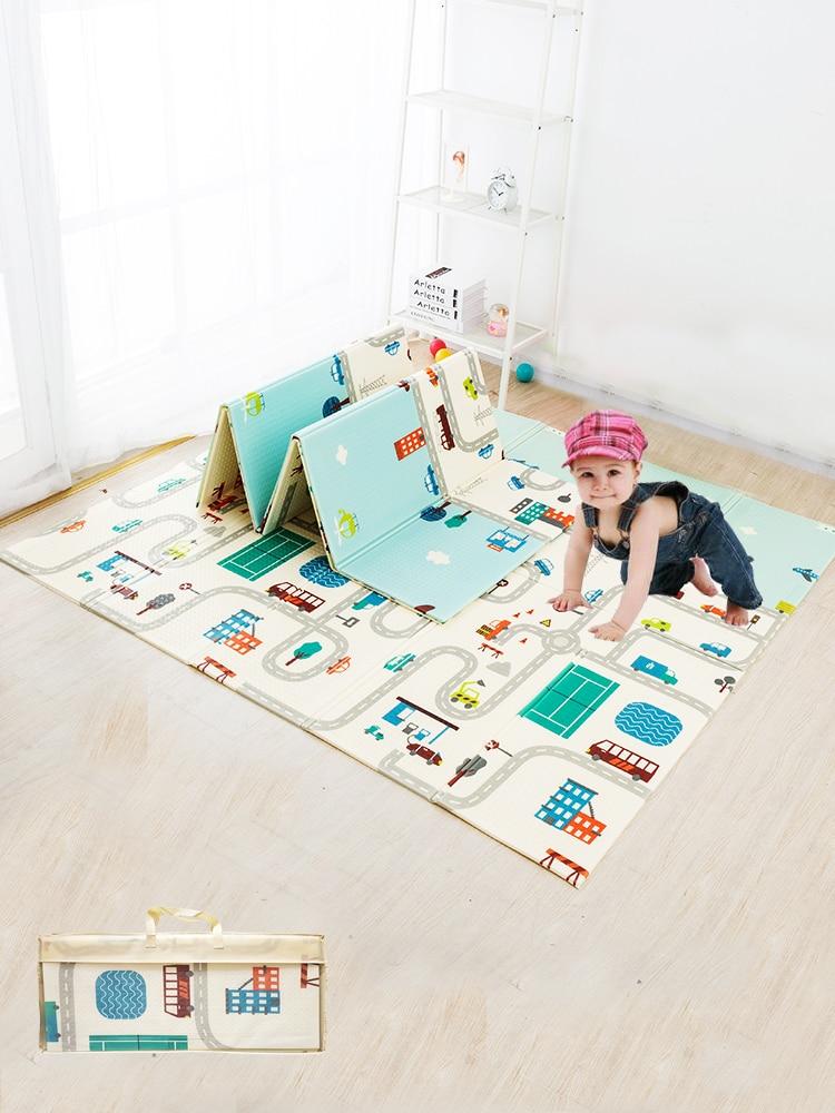 Puzzle Mat Toys Games Climbing-Pad Kids Rug Children's Carpet Activitys Baby play-Mat