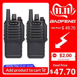 2 stuks Baofeng BF-9700 High Power Walkie Talkie BF 9700 Lange Afstand Walky Talky Professionele Ham Radio Uhf Radio Comunicador 10 Km