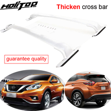 цена на for NISSAN Murano roof rack luggage bar cross beam 2015 2016 2017+ ,best aluminium alloy,from top factory..Asia free shipping.