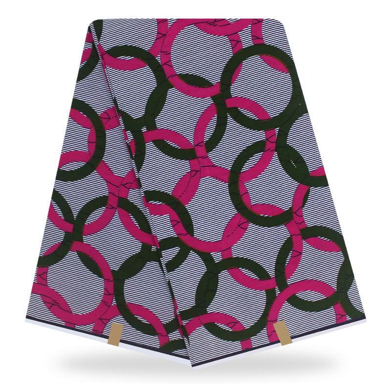 Brick Orange 100/% Cotton Africa Ankara Wax Print Fabric 6 Yards Denim