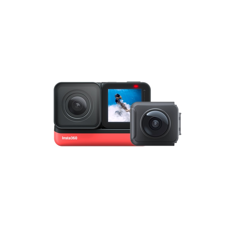 Insta360 ONE R 5.7K Panorama 4K Wide Angle Waterproof FlowState Stabilization Action Camera 5G insta 360 For Video Twin Edition 2