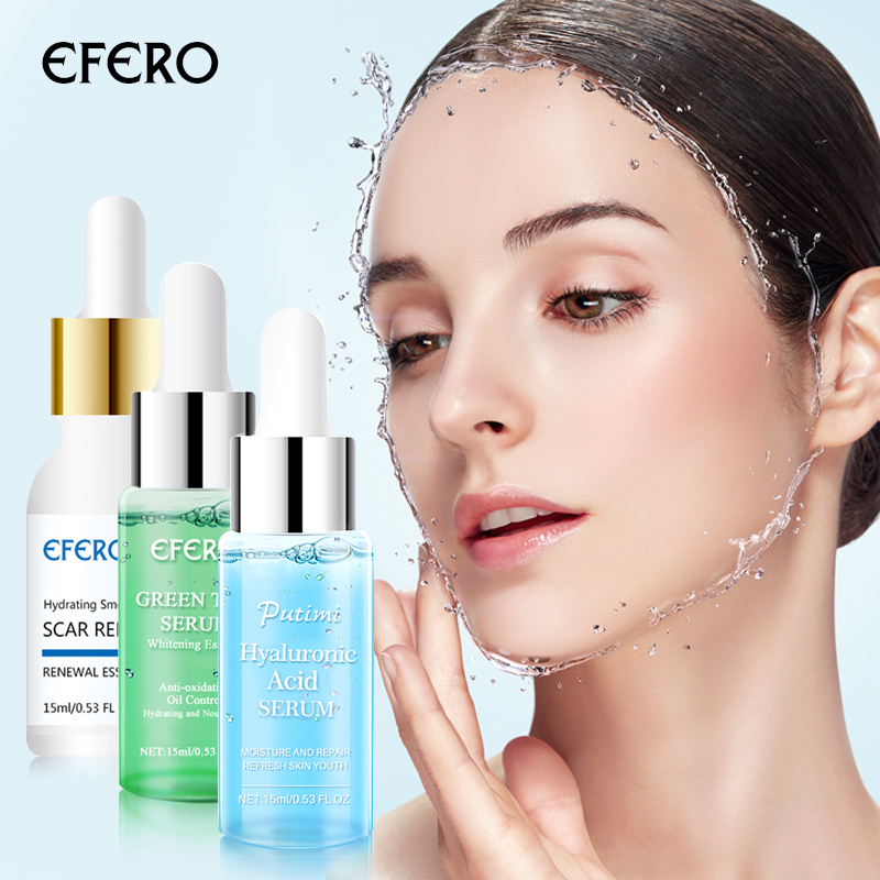 Image 5 - Argireline Hyaluronic Serum Six Peptides Anti Aging Wrinkle Essence Whitening Cream Acne Treatment Scar Removal Face Essence-in Serum from Beauty & Health