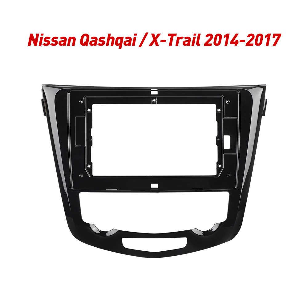 2Din coche Marco de salpicadero para Radio para Nissan X-Trail X rastro 3 T32 Qashqai 1 J10 2013-2017 Android GPS Panel Dash Kit de Marco