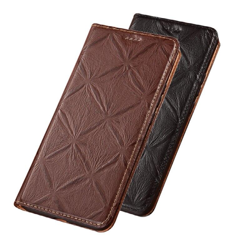 Genuine Leather Flip Case Card Holder Holster Covers For Nokia 5.4/Nokia 5.3/Nokia 5.1 Plus/Nokia 5.1/Nokia 5 Phone Cases