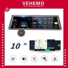 10ch Car Camera 4G Dual ADAS WIFI Round Riew Car Dvr Camera Mirror 1080P Dashcam Full Hd 1920x1080 Auto Dvr Android Night Vision(China)