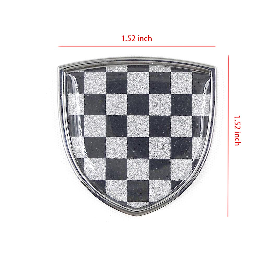 Image 5 - Car Styling Metal Emblem Badge Sticker Decals Decorative For Mini Cooper JCW One Countryman Clubman F55 R60 F60  Car Accessories-in Car Stickers from Automobiles & Motorcycles
