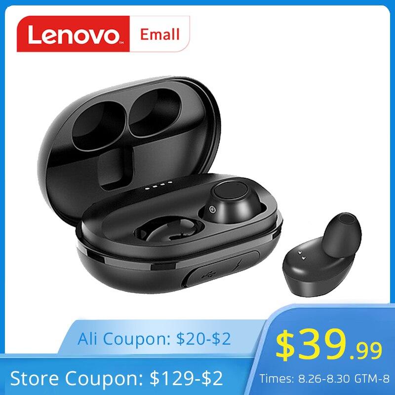 Lenovo IPX5 Waterproof Earphone Headset Earbud True Wireless Communication TWS Portable