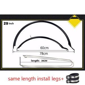 Image 3 - 26 27,5 дюймов 29 дюймов крыло для велосипеда MTB крылья для велосипеда передняя задняя грязевая защита