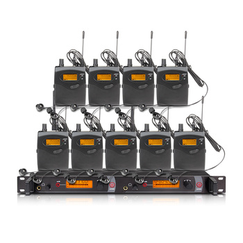 orban Stage Performance and Sound Broadcast EM2050 Professional Wireless In Ear-Monitor System 9 Transmitters Restore Real Sound