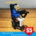 120 + stücke MOC Set DIY Stephen Hawking Mini Figuren Kreative Sammlung Pädagogisches Modell Bausteine Spielzeug Ziegel Tasche für kinder
