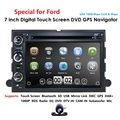 Fit Ford F150 F250/350/Rand/Fusion/Mustang In Dash DVD Player GPS Navigation Stereo Radio BT Lenkrad Ctrl 3G RDS KARTE CAM