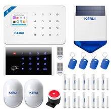 Kerui w18 wifi gsm сигнализация 433 МГц Беспроводная Домашняя