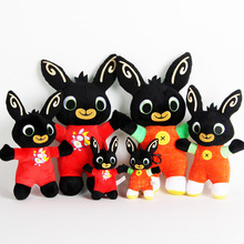 BING BUNNY Sula Bing Rabbit  Plush Bunny Toy Flop Doll Toys Hoppity Voosh Stuffed Animal Pando For Children Christmas Gifts