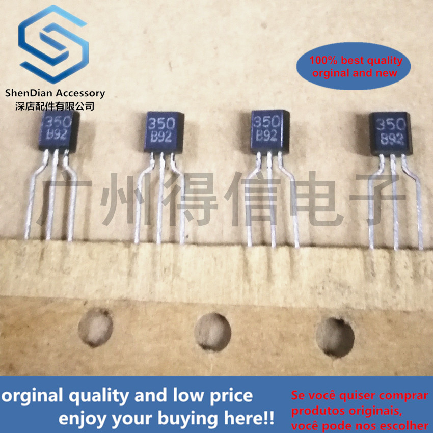 10pcs 100% New And Orginal 350 B92 TO-92 In Stock