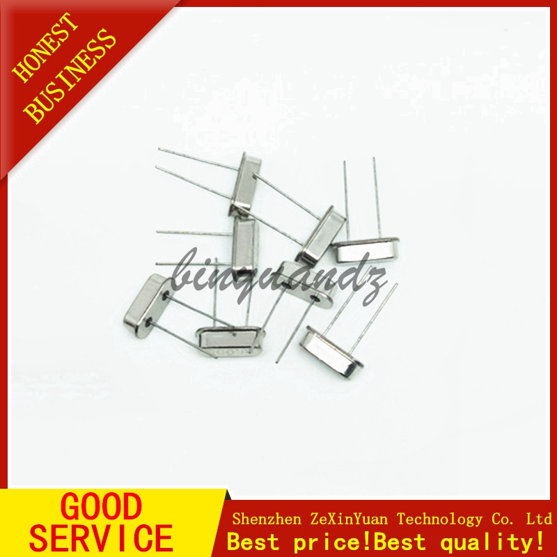 Crystal Oscillators HC-49S Assortment Kit Quart 4 MHz 6MHz 8MHz 12MHz 16MHz 20MHz 24MHz 25MHz 26MHz 27MHz 10Value X 5PCS=50 PCS