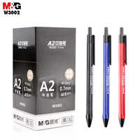 Pluma neutra M & G A2. Bolígrafo de firma de oficina de 0,7mm W3002