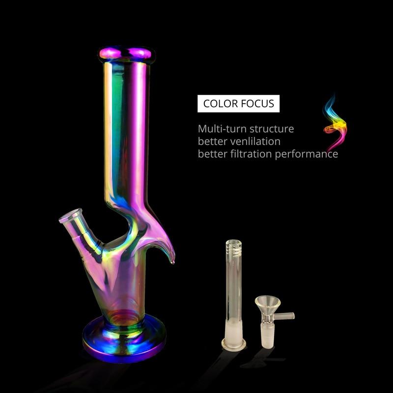 2019 New Hot Sale Multicolor Glass Pipe Set Borosilicate Pipe Percolator
