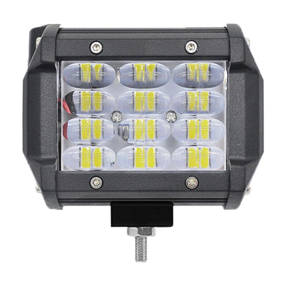 4inch 36W 12-LED Flood Spot Work Light Offroad Car Truck SUV Boat Fog Driving Lamp Spot LED Light Bar Work Lights For Tractors