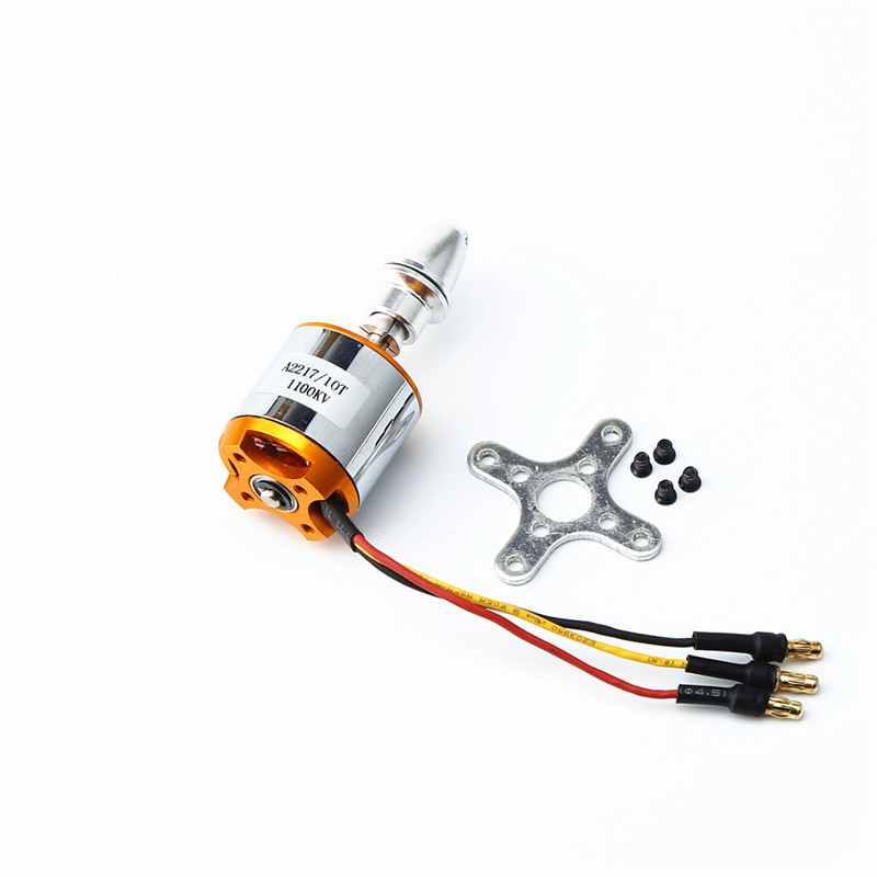 XXD <font><b>2217</b></font> KV1100 Brushless <font><b>Motor</b></font>+1060 Propeller*2+9g Servo*2+40A ESC RC Power System Combo for RC Drone Airplane RC Quadcopter image