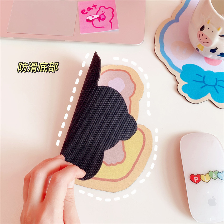Kawaii meninas urso mouse almofada bonito tapete