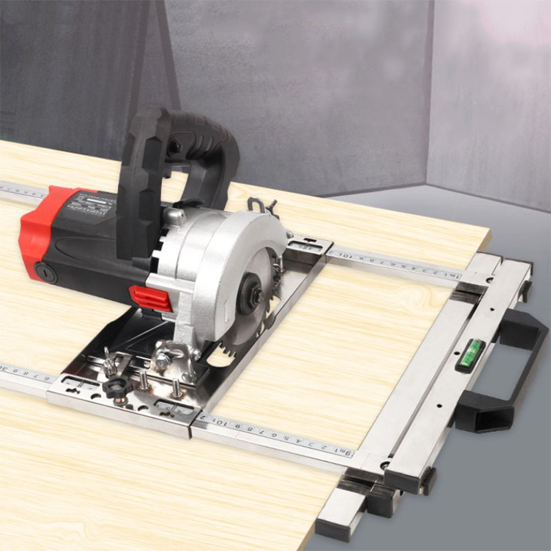 Купить с кэшбэком new Electricity Circular Saw Trimmer Machine Edge Guide Positioning Cutting board tool Woodworking Router Circle Milling tool