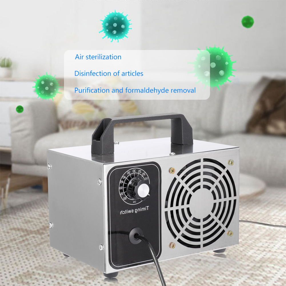 28g/h 24g/h 10g/h Ozone Generator Sterilizer 220V/110V EU/US Plug Home Air Cleaner Purifier Ozonator Machine Cleanning Tool
