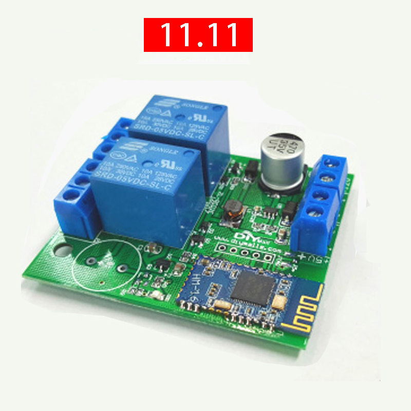 ZL-RC02 BLE Bluetooth Switch Mobile Wireless Remote Control Open The Door The Module