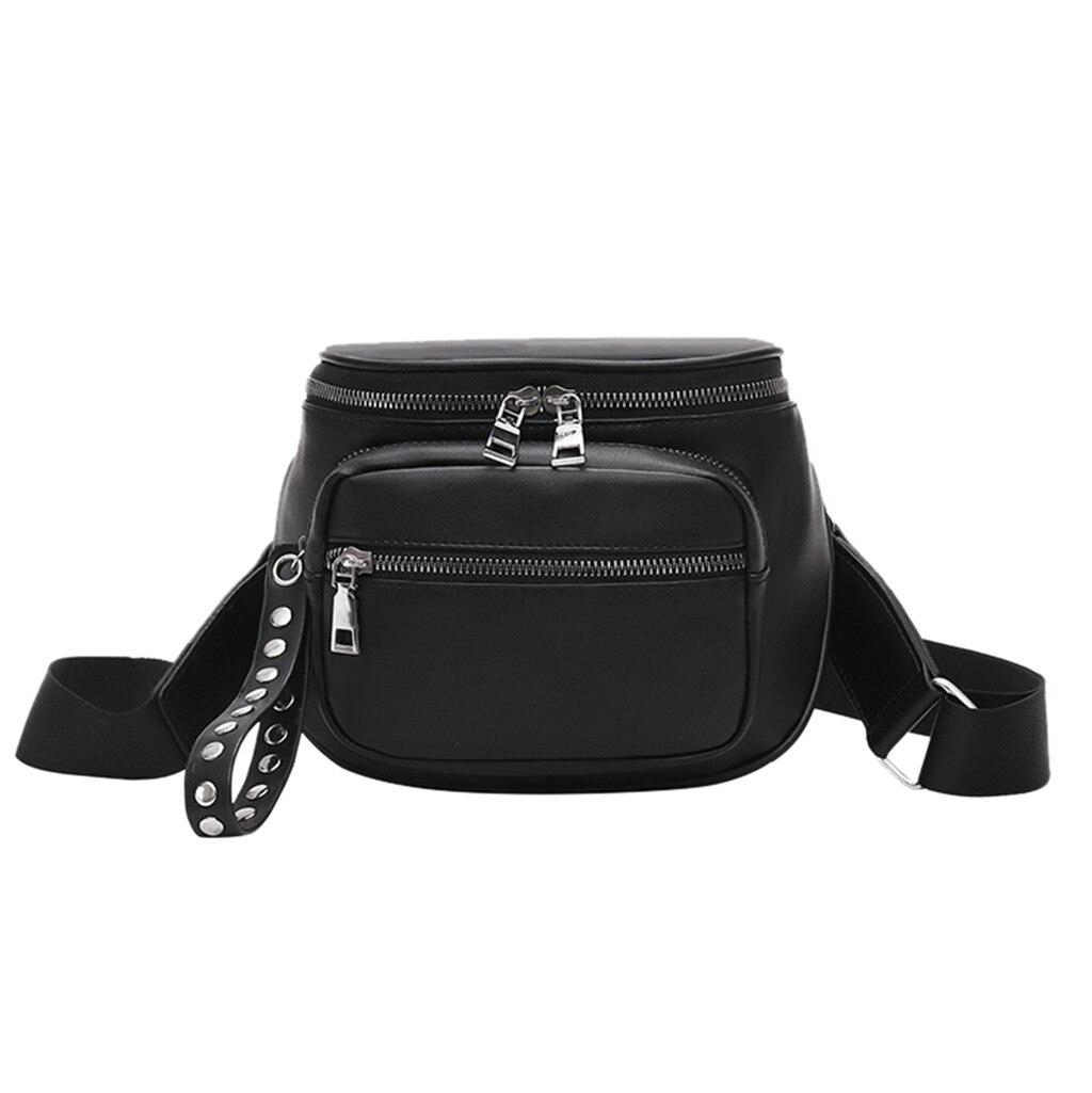 Bolsa feminina de couro de luxo bolsa