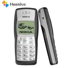 Nokia 1100 odnowiony-oryginalny telefon komórkowy Nokia 1100 Unlocked GSM900/1800MHz z wieloma językami 1 rok gwarancji