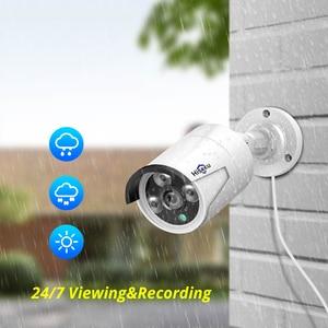 Image 2 - 5MP 1080P 8CH Poe Nvr Cctv Sesurity Camera Poe Systeem Outdoor Waterdichte Kit 48V 1T Hdd Onvif hiseeu